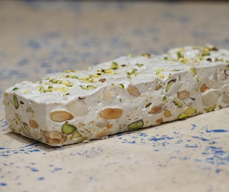 vero torrone artigianale pistacchio_pasticceria barlazio serrone