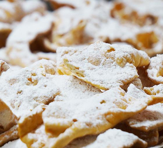 dolci di carnevale frappe-chiacchiere-pasticceria-artigianale-bar-lazio
